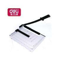 得力 8013 钢质切纸机/切纸刀/裁纸刀/裁纸机 380mm*300mm