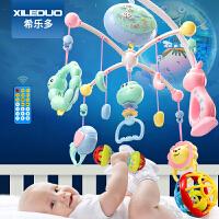 婴儿床铃音乐旋转0-3-6-12个月车玩具挂件新生宝宝0-1岁床头摇铃