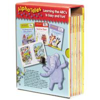 Alpha Tales 字母故事图画书套装 9780545067645