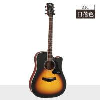 民谣吉他41寸初学者新手男女学生入门吉他电箱吉他