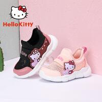 【秒杀价:79元】HELLOKITTY童鞋 夏季单网透气 女童运动鞋K0525932