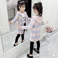 12-15岁儿童女孩大衣风衣2019秋冬季新款韩版女童外套