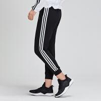 adidas女服运动长裤2019新款收口休闲运动服DW4604