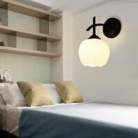 北欧现代简约创意客厅装饰过道楼梯led灯具欧式床头卧室玻璃壁灯