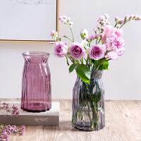 玻璃花瓶欧式简约水养植物器皿客厅摆件鲜花插花水培干花瓶