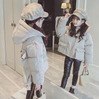 女童棉衣2018新款冬装儿童韩版洋气女孩中大童棉袄加厚外套潮