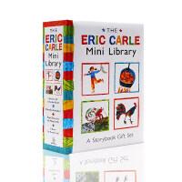 艾瑞卡尔小小图书馆英文原版绘本 Eric Carle Mini Library 4本精装 儿童启蒙益智绘本适合3-6岁