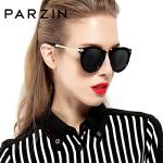 帕森 太阳镜女士 大框圆脸时尚复古女士潮流驾驶偏光镜墨镜女9231