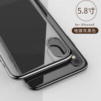 iPhoneX手机壳苹果6s新款套8plus防摔iPhone7p男x女款8潮牌6P情侣软硅胶保