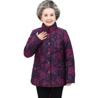 中老年女装冬外套奶奶短款加厚棉衣老人衣服60-70-80岁妈妈装棉袄 +加绒裤+帽子