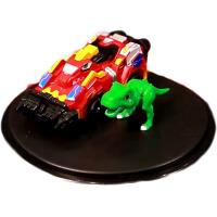 暴龙战车 爆龙战车新亿奇爆裂变恐龙男孩暴龙霸王龙机甲变形组合玩具 霸王龙 小款(预售中)