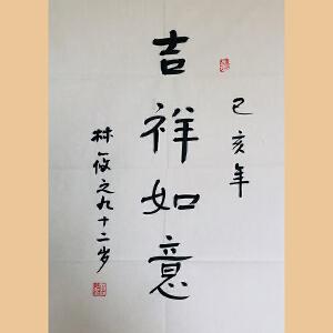 """草圣""""林散之""""之子 林筱之(吉祥如意)ZH598"""