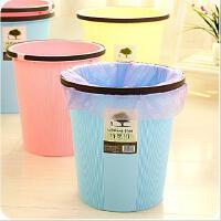 厨房家用塑料垃圾桶创意镂空垃圾桶手提带压边压环纸篓