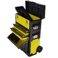 移动拉杆箱工具箱多功能五金工具车带轮抽屉行李箱收纳箱