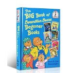 The Big Book of Berenstain Bears Beginner Books 贝贝熊6本故事书精装合