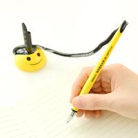 开学必备文具 晨光文具 签字笔/中性笔/固定笔服务台笔AGP16103黑0.5