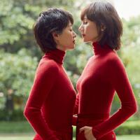 我的前半生同款高领套头红色毛衣女秋冬装修身显瘦紧身针织打底衫
