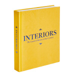 Interiors 室内装潢:世纪空间 橘黄色封面 英文原版室内设计装修布置