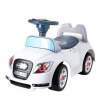 A+B宝宝踏行车玩具车儿童滑行车可坐助步车四轮音乐童车溜溜车