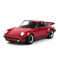 1:24 1974保时捷911TURBO仿真合金汽车模型摆件