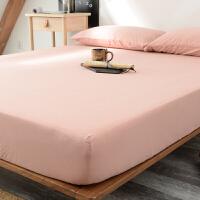 日式天竺棉床笠单件席梦思床垫保护套纯棉全包防尘床套可拆卸床罩