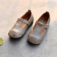 女童演出单鞋公主鞋休闲宝宝鞋黑皮鞋