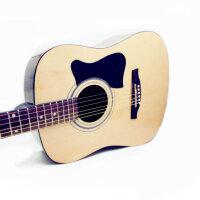 (货到付款)Jackson 木 吉他 民谣吉他 41寸  初学 吉他 入门 云衫木面板 (三色可选:经典原木色 黑色 太阳色)GD-8 送:背包 拨片 背带 一弦 扳手 《即兴之路》教材  CD