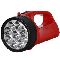 【包邮】久量LED710A探照灯 强光 远程 充电巡逻灯 家用手提探照灯 强光手电筒