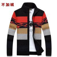新款毛衣男加绒加厚毛衣男士开衫保暖针织衫外套宽松毛衣外套上衣