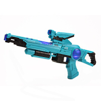 宜佳达 幼儿男童小童儿童电动电子声光玩具枪发光发声有声带音乐声音男孩六一儿童节礼物