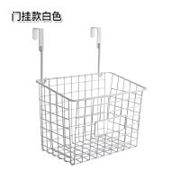 日式铁艺收纳篮厨房免打孔挂篮置物篮浴室卫生间挂式置物架储物