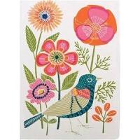 预订Avian Friends Embroidered Handmade Journal