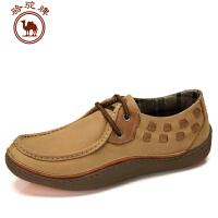 骆驼牌秋冬新款男鞋 日常休闲男士鞋子流行男鞋低帮鞋