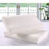 乳胶枕颈椎修失眠枕头枕芯护颈枕记忆棉助睡眠枕L03定制