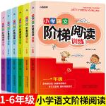 全6册小学语文新课标阶梯阅读训练 小学生一二三四五六年级阅读理解训练题同步阅读能力培养小学语文知识大全书教辅教材资料书