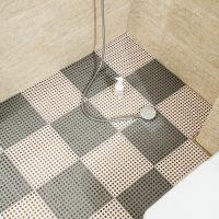 【优选】浴室防滑垫淋浴家用拼接垫洗澡厕所卫生间隔水垫子洗手间厨房地垫