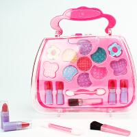 儿童化妆品套装彩妆套装可水洗过家家女孩玩具化妆品手提盒