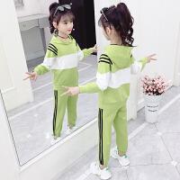 2019春秋季新款儿童洋气童装两件套女童秋装套装