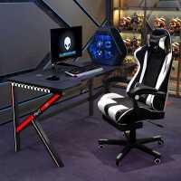 电竞桌电脑台式桌简易书桌简约家用办公桌子电脑游戏桌椅套装组合