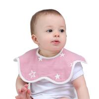 婴儿口水巾棉宝宝围嘴360度旋转口水围兜秋冬婴儿口水巾
