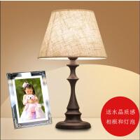 20190702041417712现代欧式台灯卧室床头灯温馨北欧美式时尚创意可调光遥控简约灯具