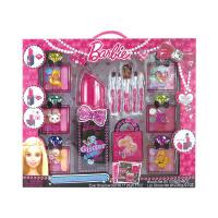 指甲贴女孩口红儿童化妆品公主彩妆盒套装玩具女生生日礼物KLD