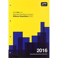 预订JCT:Standard Building Contract Without Quantities 2016