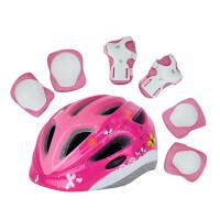 1滑板溜旱冰滑冰护膝轮滑护具自行车儿童头盔套装7件套3SN8227