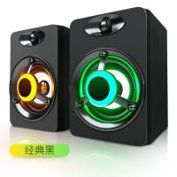 【好�】��X音��_式�C迷你小音箱多媒�w家用�P�本重低音USB供�低音炮影�喇叭有源有�通用