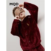 MQD童装男童睡衣家居服中大童2019秋冬装新款儿童睡衣套装中大童