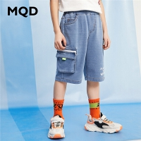 MQD童装男童短裤牛仔2020夏季新款潮宽松下装儿童韩版休闲五分裤