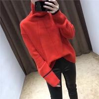 的毛衣女加厚网红羊绒衫女秋季针织衫女长袖保暖2018新款