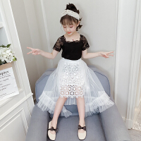 2019夏季新款儿童洋气裙子两件套女孩童装女童夏装套装