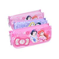 联众迪士尼公主笔袋 韩国可爱华丽风学生男女文具盒
